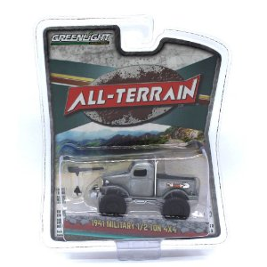 Military 1/2 Ton 4x4 1941 All-Terrain Serie 5 1/64 Greenlight