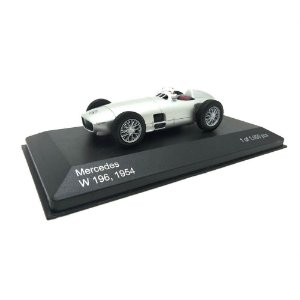 Mercedes Benz W 196 1954 Prata 1/43 Whitebox