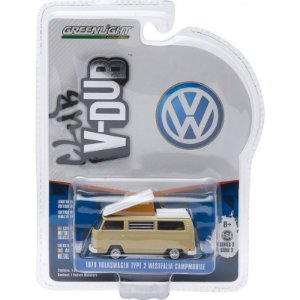 Volkswagen Kombi T 2 Westfalia C Club V-DUB 1970 1/64 Greenlight