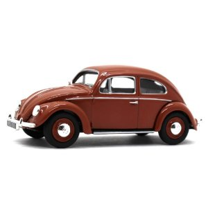 Volkswagen Fusca Oval Rear Window Saloon 1951 1/43 Corgi