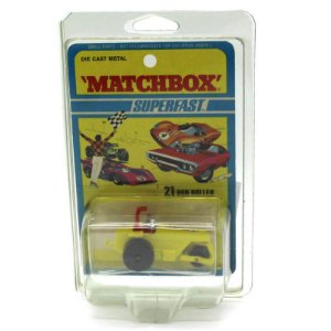 Trator Rod Roller Superfast N 21 1971 1/64 Matchbox
