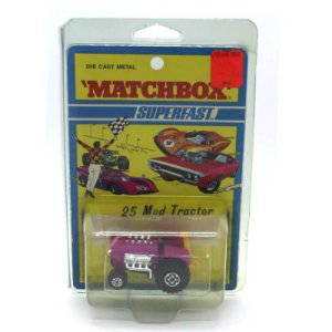 Trator Mod Tractor Superfast N 25 1971 1/64 Matchbox