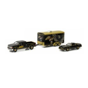 Pontiac Trans AM e Chevrolet Silverado Smokey and the Bandit II 1/64 Greenlight