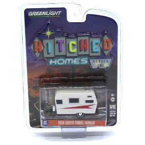 Trailer Siesta Travel Trailer 1959 1/64 Greenlight
