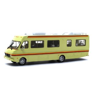 Trailer Breaking Bad Fleetwood Bounder RV 1986 1/43 Greenlight