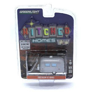 Trailer Airstream 16 Bambi Hitched Homes 1/64 Greenlight