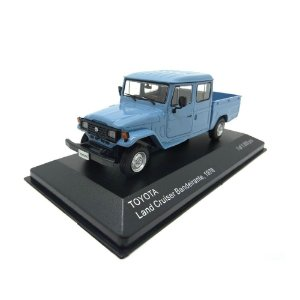 Toyota Bandeirante Land Cruiser Pick Up 1976 1/43 Whitebox