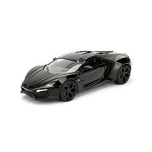 W Motors Lykan HyperSport Preto 1/24 Jada Toys BigTime