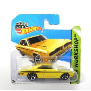 Brazilian Dodge Charger 1974 1/64 Hot Wheels Hw Workshop