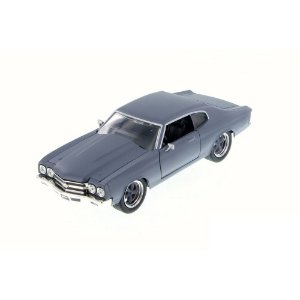 Chevrolet Chevelle SS Toretto Velozes e Furiosos 4 1/24 Blue