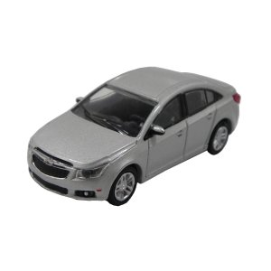 Chevrolet Cruze 2013 Prata 1/64 Greenlight California Collectibles 64