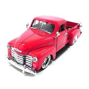 Chevrolet PickUp 1953 1/24 Jada Toys Vermelho