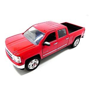 Chevrolet Silverado 2014 Vermelho 1/24 Jada Toys