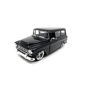 Chevrolet Suburban 1957 Preto 1/24 Jada Toys