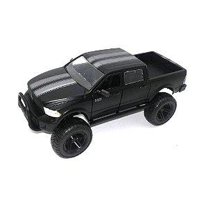 Dodge Ram 1500 2014 Preto 1/24 Jada Toys