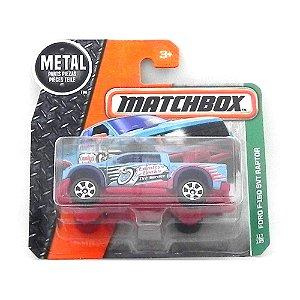 Ford F-150 Svt Raptor 1/64 Matchbox Matchdmg93-Cd10