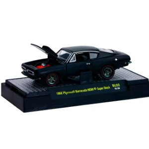 Plymouth Barracuda Hemi Super Stock 1/64 M2 Machines BL02