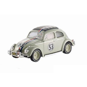 Fusca Herbie Goes to Monte Carlo 1/43 Hot Wheels Elite