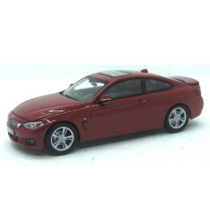 BMW 4 Series 435I Coupe F36 2014 Vermelho 1/43 Paragon