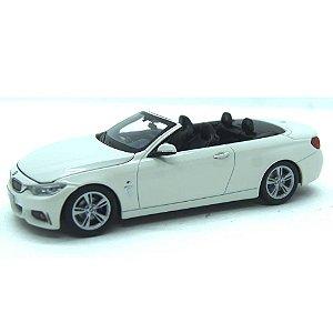 BMW 4 Series 435i Cabriolet F33 2014 Branco 1/43 Paragon
