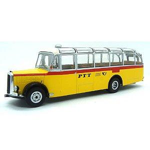 Ônibus Saurer L4C Autobus Sonderfahrt 1959 1/43 Ixo