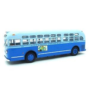 Ônibus GM TDH 3714 Autobus Santa Monica 1955 1/43 Ixo