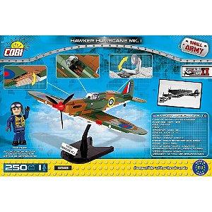 Avião Hawker Hurricane MK.I Blocos de Montar 250 Peças Cobi