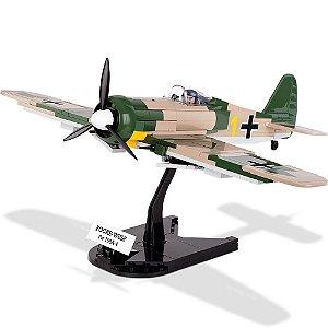Avião Militar Focke-Wulf Fw 190 A-4 Com 255 Peças Cobi