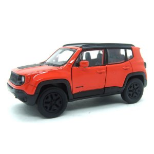 Jeep Renegade Trailhawk Laranja Com Fricção 1/32 Welly