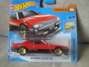 Nissan Skyline R30 1982 1/64 Hot Wheels Factory Fresh 6/365