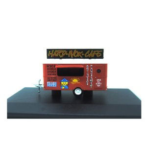 TRAILER HARD-WOK-CAFE 1/76 OXFORD