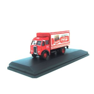 Albion Victor Box Van Coca-Cola 1/76 Oxford