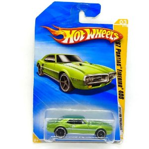 Pontiac Firebird 400 1967 1/64 Hot Wheels