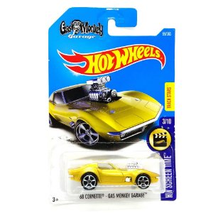 Corvette Gas Monkey Garage 1968 1/64 Hot Wheels