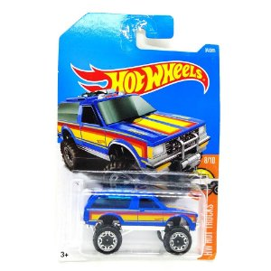 Chevy Blazer 4x4 1/64 Hot Wheels