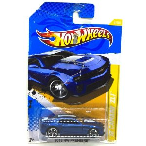 Camaro ZL1 2012 1/64 Hot Wheels
