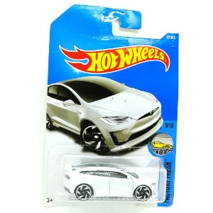Tesla Model X 1/64 Hot Wheels
