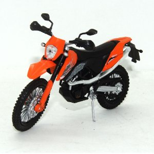 Moto KTM 690 Enduro 1/18 Welly California Cycle