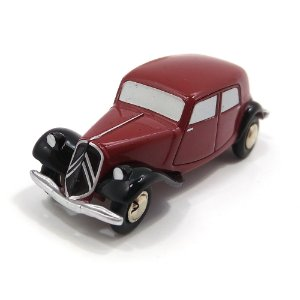 Citroën Traction 11B Weinrot/Schwarz Piccolo 1/90 Schuco