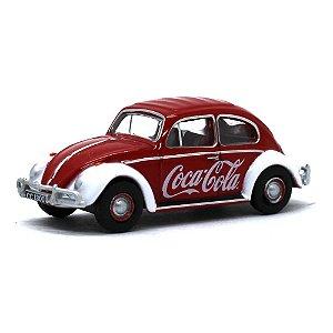 Volkswagen Fusca Coca Cola 1/76 Oxford