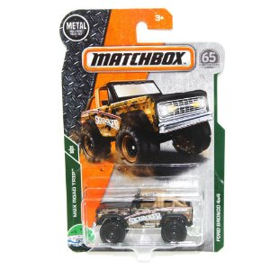 Ford Bronco 4x4 1/64 Matchbox