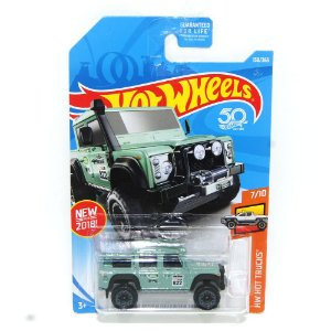 Land Rover Defender Double Cab 2015 1/64 Hot Wheels