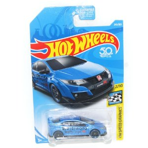 Honda Civic Type R 2016 1/64 Hot Wheels