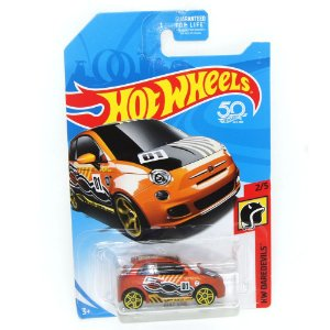 Fiat 500 1/64 Hot Wheels