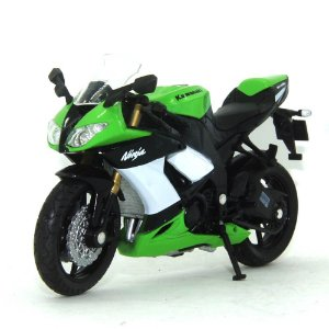 Moto Kawasaki Ninja Zx-10R 1/18 Welly California Cycle