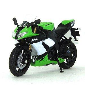 Moto Kawasaki Ninja Zx-10R 1/18 Welly California Cycle