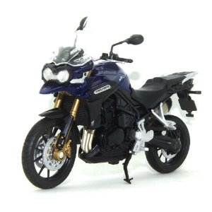 Moto Triumph Tiger Explorer 1/18 Welly California Cycle