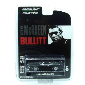 Dodge Charger 1968 Bullitt 1/64 Greenlight