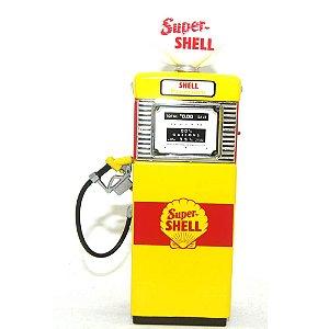 Bomba de Combustivel Shell 1/18 Greenlight