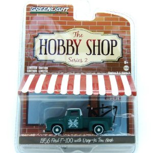 Ford F-100 1956 The Hobby Shop Series 2 1/64 Greenlight